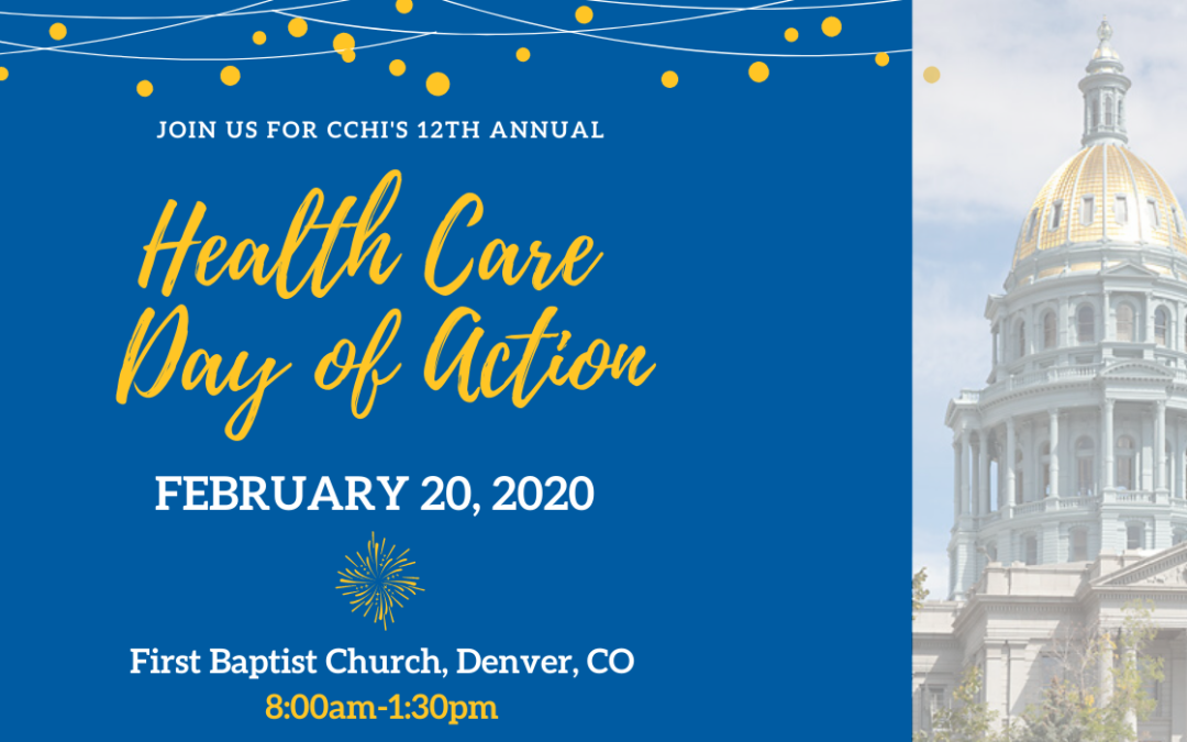 February 20th – Health Care Day of Action 2020