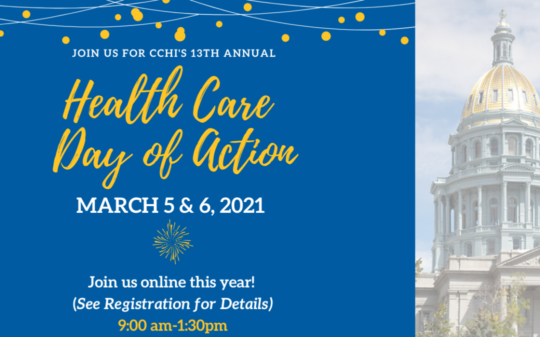 CCHI Health Care Day of Action 2021