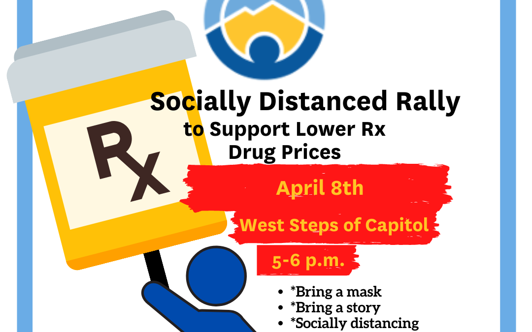 Socially-Distanced Rally to Support Lower Rx Drug Prices