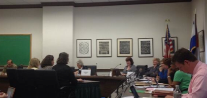 CCHI's Debra Judy testifies alongside CCLP and CHA in support of SB14-050.